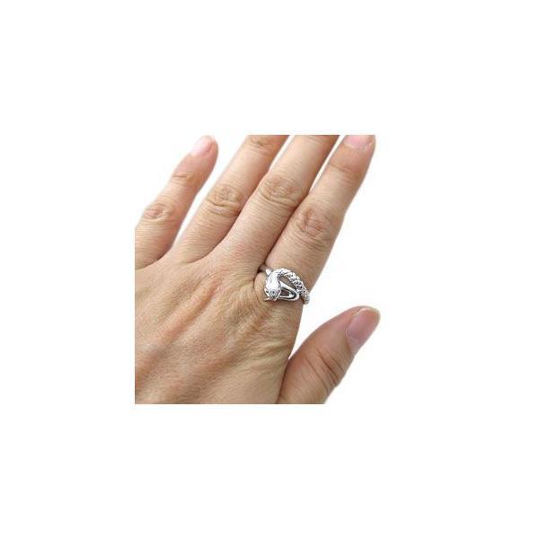 プラチナ リング 指輪 スネーク リング 蛇 ヘビ