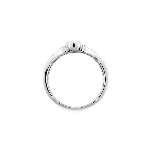 プラチナ 指輪 ペリドット リング 一粒 唐草 リング
