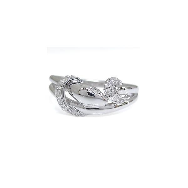 ファランジリング・プラチナ・指輪・蛇・ダイヤモンド・リング