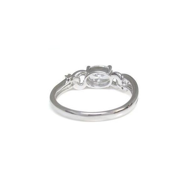 大粒 リング キュービックジルコニア リング シルバー 婚約指輪 格安