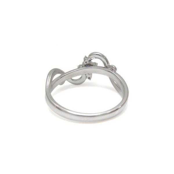 クロス リング プラチナ アメジスト リング 唐草 指輪婚約指輪 安い エンゲージリング