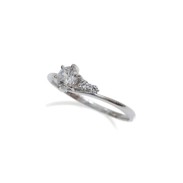 プラチナ 婚約指輪 安い リング ダイヤモンド プレゼント リング シンプル エンゲージリング
