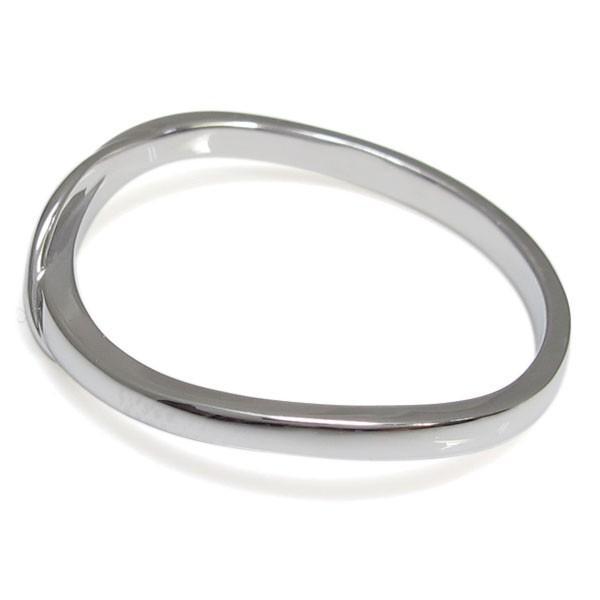 ペアリング プラチナ 安い 指輪 シンプル 2本セット レディース メンズ