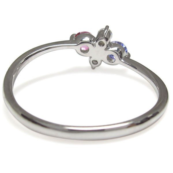 プラチナ エンゲージリング ピンクトルマリン 婚約指輪 安い レディース