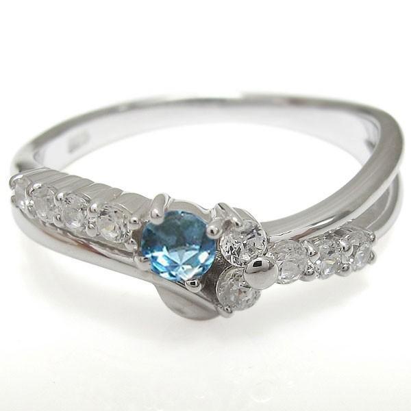 プラチナリング 結婚10周年 V字 エンゲージリング 婚約指輪
