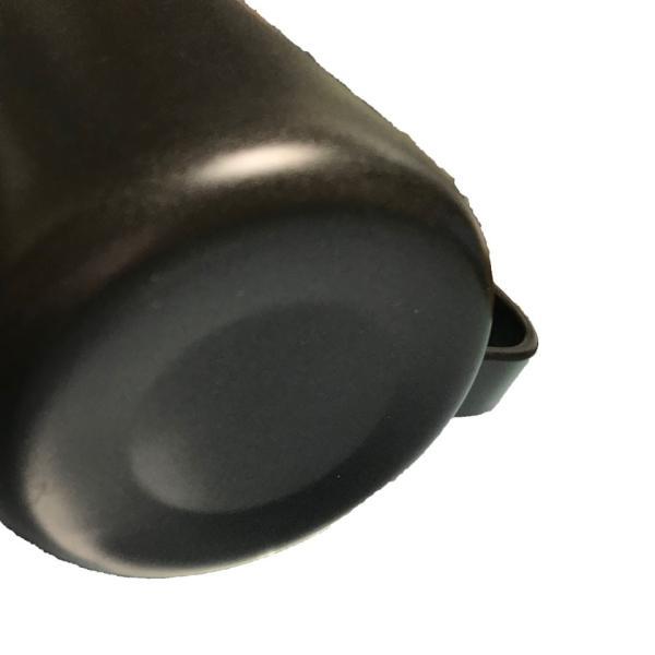 コーヒー ドリップポット (350ml)ステンレス ドリップケトル ハンドドリップ コーヒーポット ファイン口ポット ブラック plesant 05