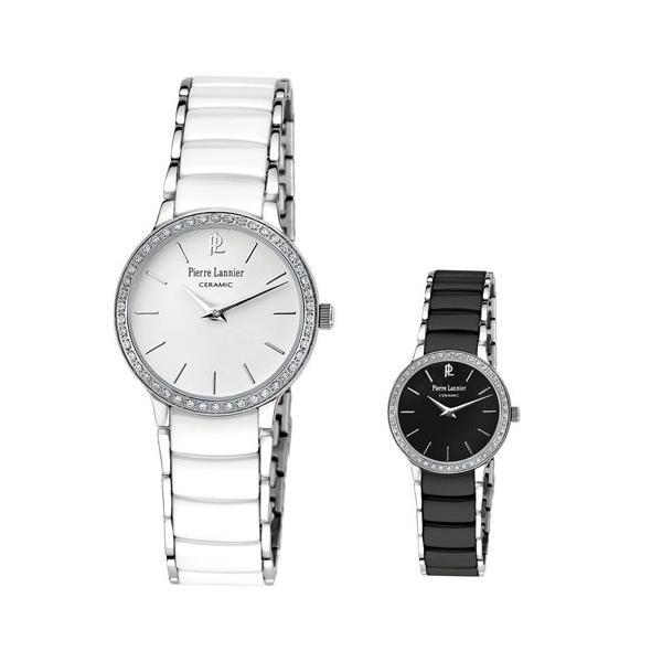 save off bb5a6 49022 ピエールラニエ レディース腕時計ブランド ブランド セラミックウォッチP044Mモデル フランス製 ラッピング送料無料 PierreLannier