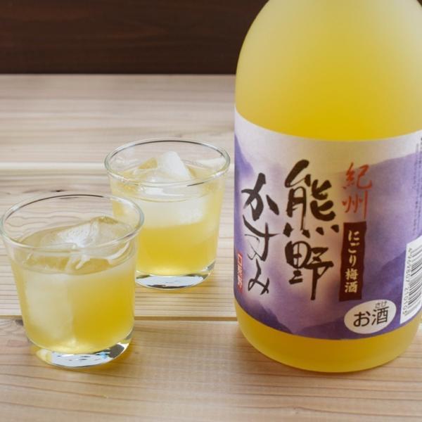 ( 梅酒 ギフト プレゼント お酒 ) にごり梅酒 熊野かすみ 720ml|plumsyokuhin|05