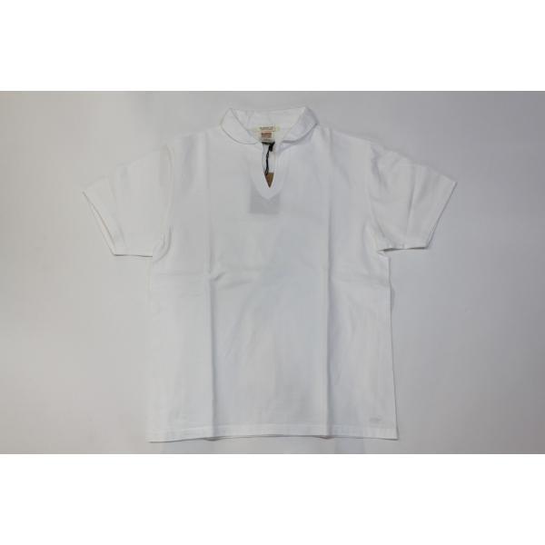 バーンズ アウトフィッターズ(Barns outfitters)スキッパーポロシャツ skipper polo shirt|plus-c|02