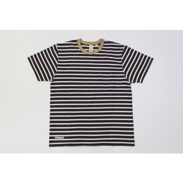 バーンズ アウトフィッターズ(Barns outfitters) ボーダー半袖Tシャツ|plus-c
