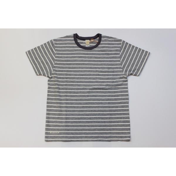 バーンズ アウトフィッターズ(Barns outfitters) ボーダー半袖Tシャツ|plus-c|02