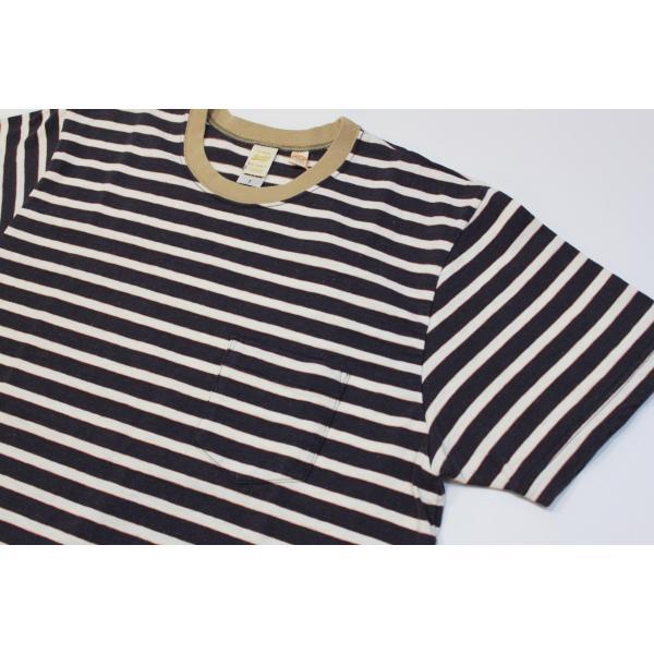 バーンズ アウトフィッターズ(Barns outfitters) ボーダー半袖Tシャツ|plus-c|03