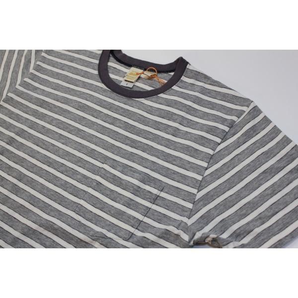 バーンズ アウトフィッターズ(Barns outfitters) ボーダー半袖Tシャツ|plus-c|04