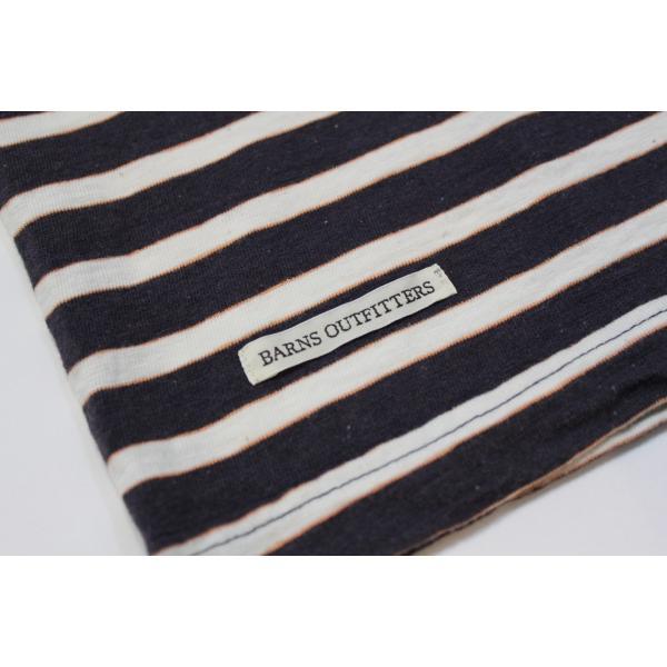 バーンズ アウトフィッターズ(Barns outfitters) ボーダー半袖Tシャツ|plus-c|06