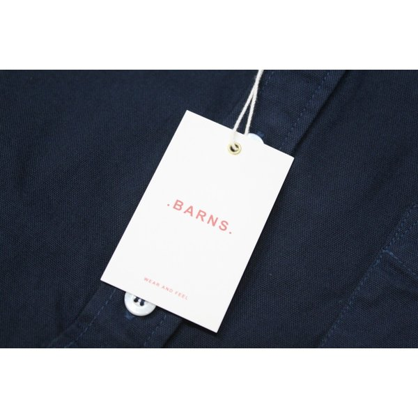 バーンズ barns outfitters   レディース プルオーバーボタンダウンシャツ|plus-c|14