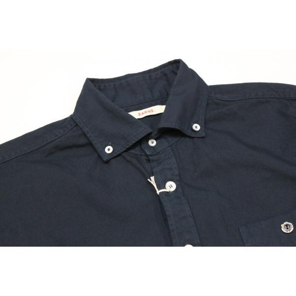 バーンズ barns outfitters   レディース プルオーバーボタンダウンシャツ|plus-c|05