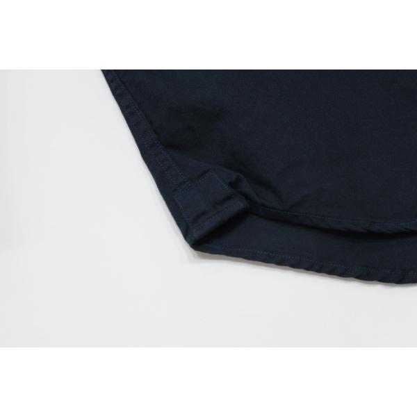 バーンズ barns outfitters   レディース プルオーバーボタンダウンシャツ|plus-c|06