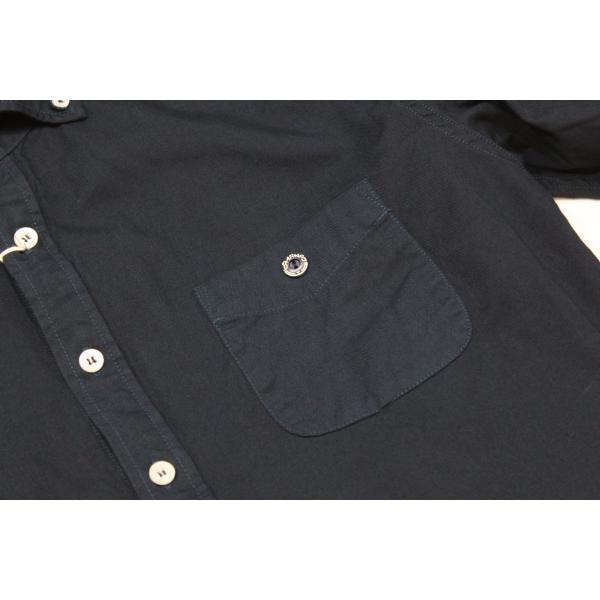 バーンズ barns outfitters   レディース プルオーバーボタンダウンシャツ|plus-c|08