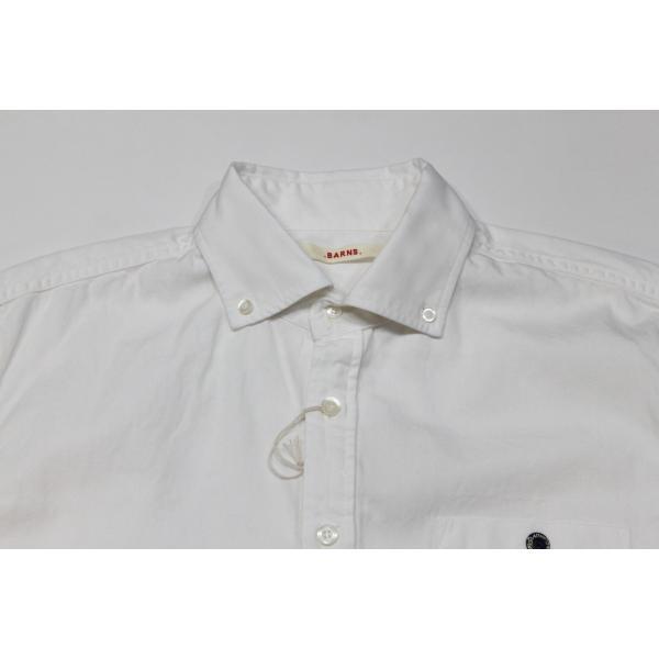 バーンズ barns outfitters   レディース プルオーバーボタンダウンシャツ|plus-c|09