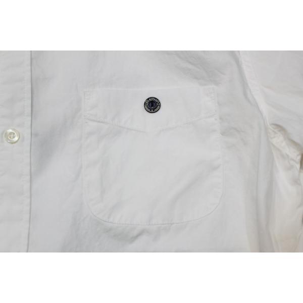 バーンズ barns outfitters   バンドカラーシャツ|plus-c|06