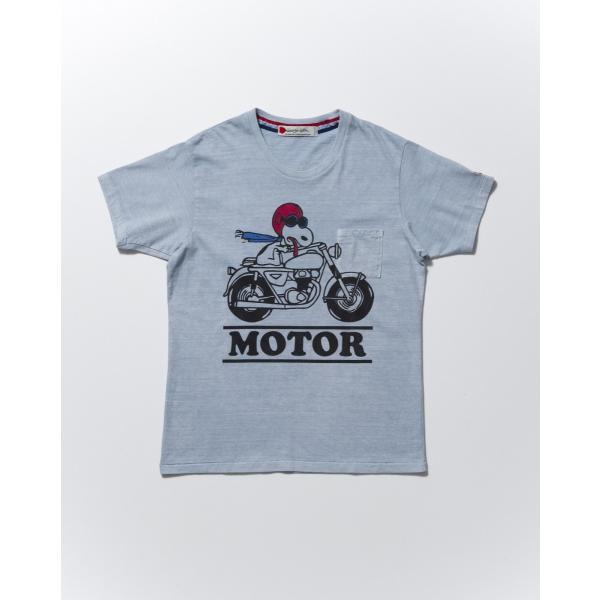 SEVESKIG(セヴシグ)SNOOPY T-SHIRT(MOTOR) plus-c 04
