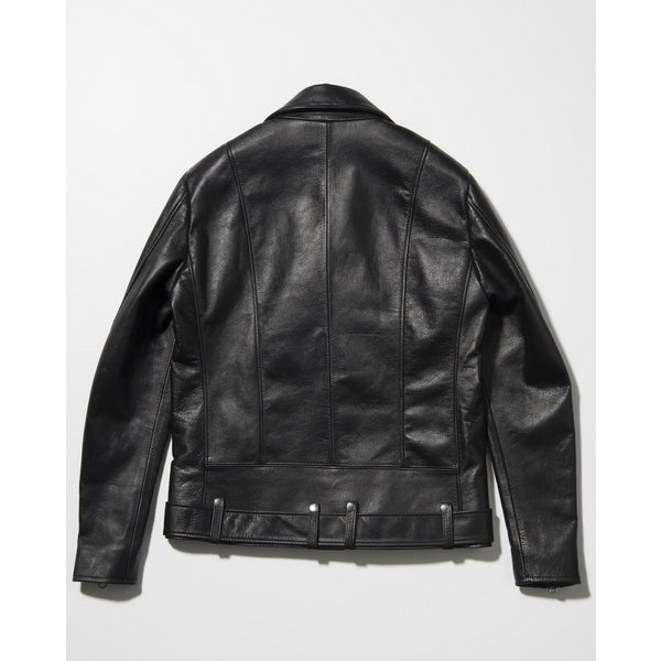 SEVESKIG(セヴシグ) COW HIDE W-RIDERS JACKET|plus-c|04