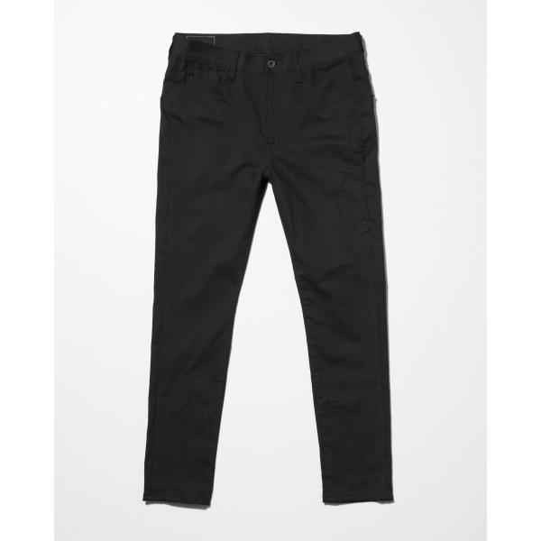 SEVESKIG(セヴシグ) EXTRA STRETCH SKINNY BLACK PANTS|plus-c
