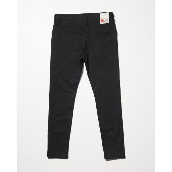 SEVESKIG(セヴシグ) EXTRA STRETCH SKINNY BLACK PANTS|plus-c|02