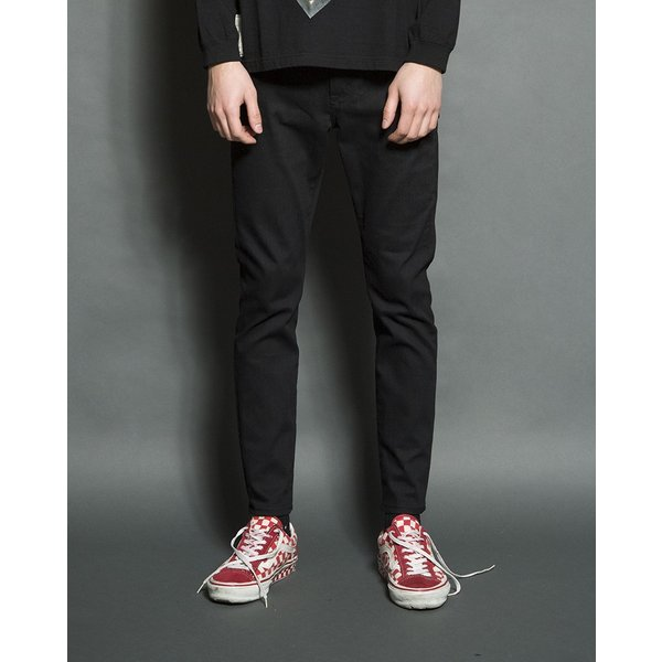 SEVESKIG(セヴシグ) EXTRA STRETCH SKINNY BLACK PANTS|plus-c|06