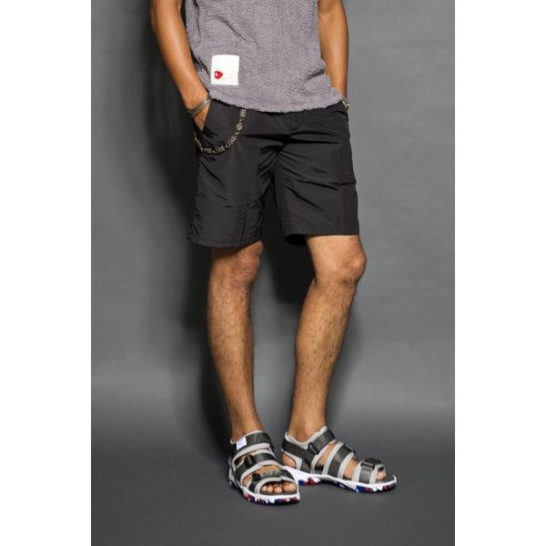 SEVESKIG(セヴシグ )NYLON EASY SHORT PANTS|plus-c