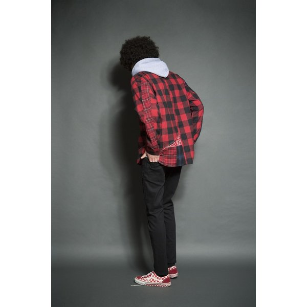 SEVESKIG(セヴシグ) REMAKE CHECK SHIRT|plus-c|14