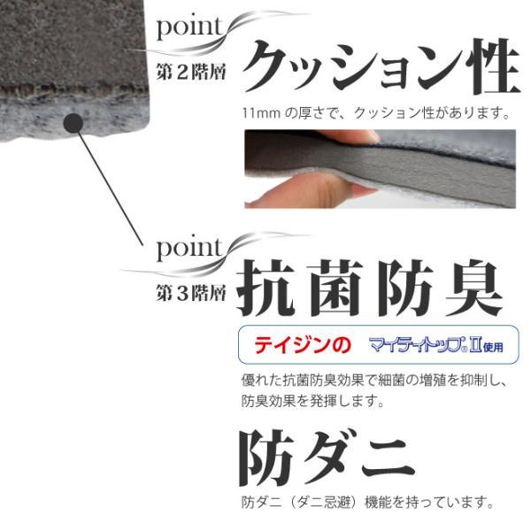 日本製 すのこ ベッド すのこ型除湿マット 防ダニ抗菌防臭 備長炭 帝人 エアジョブ ベッド用 シングル 結露 すのこマット 除湿シート 吸湿シート|plus1-store|10