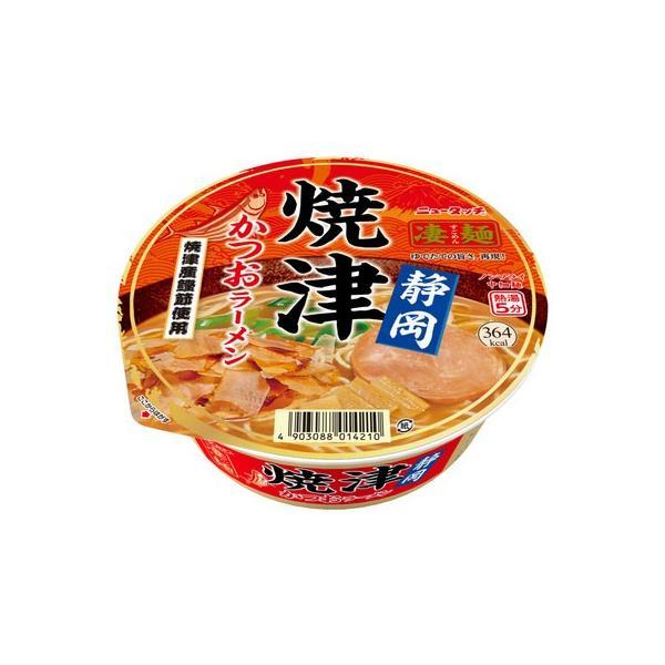 ニュータッチ凄麺静岡焼津かつおラーメン109g1ケース(12食入)