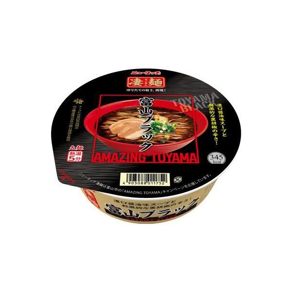 ニュータッチ凄麺富山ブラック119g1ケース(12食入)