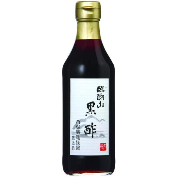 内堀醸造 臨醐山 りんこさん 黒酢 瓶 360ml|plus1spot