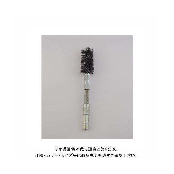 サンフレックス 六角軸 ツイスト型ワイヤーブラシ16mm径鋼線(フレキシブル) No.4217H