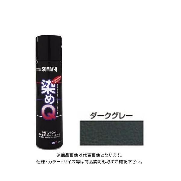 染めQ ミニ染めQエアゾール (ダークグレー) 70ML ソメキュー00197670740000