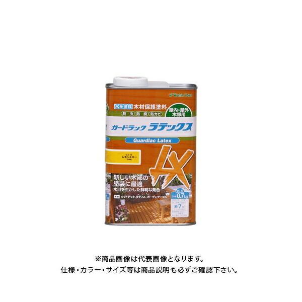 和信ペイント ガードラックラテックス レモンエロー 0.7kg #911515