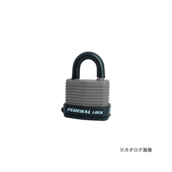 フェデラル FEDERAL RL40W-GY-P ダイヤル鍵 屋外用 グレー