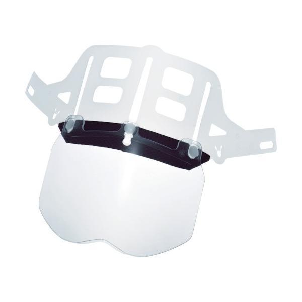 ミドリ安全 ヘルメット 交換用シールド面 SC-11用 4007100903