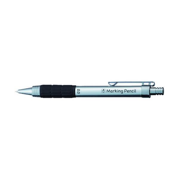 たくみ ノック式鉛筆  白 7783