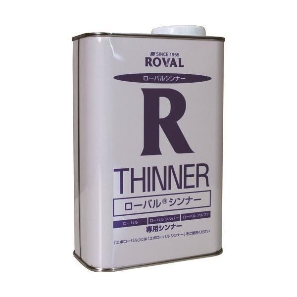 ROVAL 亜鉛メッキ塗料 ローバルシンナー 3L缶 RT-3L