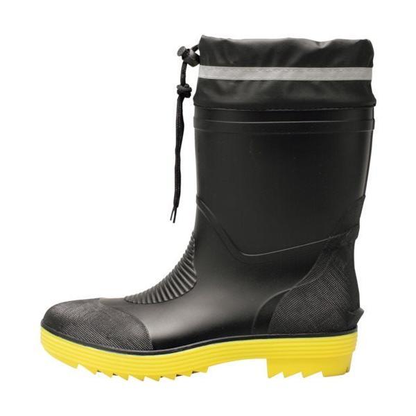 ジーベック ショート丈安全長靴85763-90-L 85763-90-L