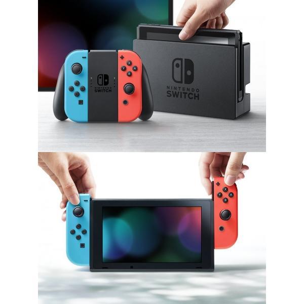【新品(箱きず・やぶれ)】Nintendo Switch 本体 ニンテンドースイッチ Joy-Con (L) / (R)【キャッシュレスで5%還元】任天堂|plusa-main|05