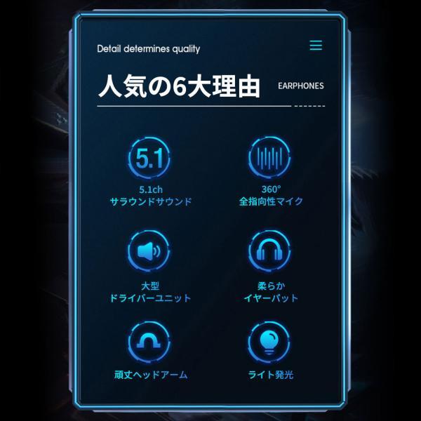 ゲーミングヘッドセット PS4 ヘッドセット ゲーム ヘッドホン マイク付き 高音質 有線 スイッチ SWITCH フォートナイト Apex BO4 FPS LED PC  送料無料|plusentrysoreyhs|06
