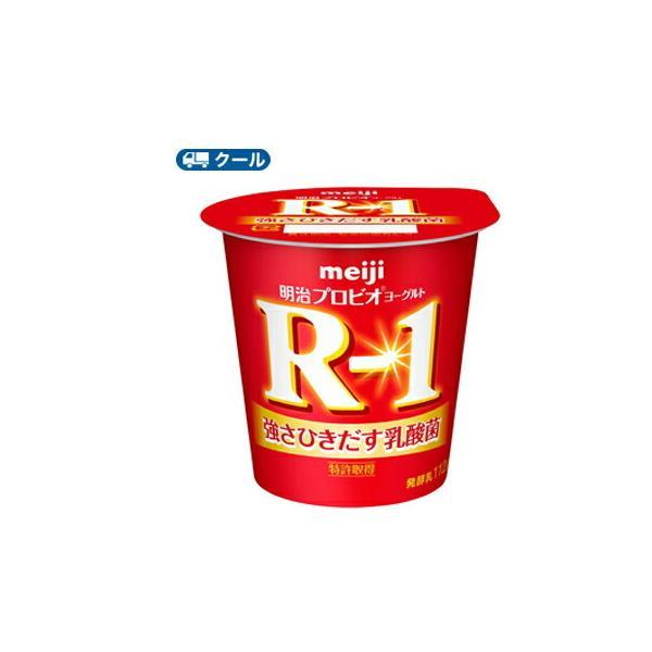 明治 R-1 ヨーグルト 食べるタイプ (112g ×36コ)  【クール便】 まとめ買いお買得品