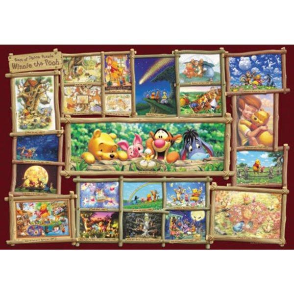 1000ピース ジグソーパズル ディズニー ジグソーパズルアート集 くまのプーさん 世界最小1000ピース 29.7x42cm テンヨー Tenyo