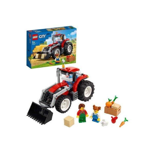 レゴシティトラクター60287LEGOブロックおもちゃプレゼントギフト