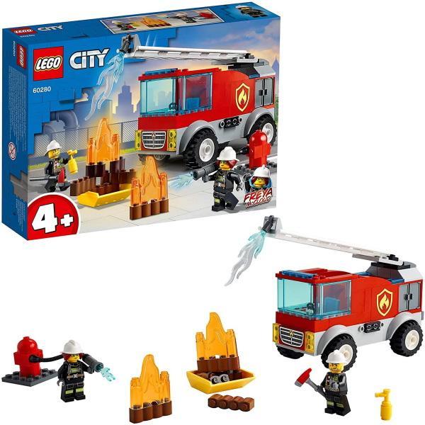 レゴシティ消防はしご車60280LEGOブロックおもちゃプレゼントギフト
