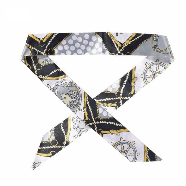 ツイリースカーフ トゥイリースカーフ バッグスカーフ バッグ用スカーフ プチスカーフ ハンドルスカーフ ロングスカーフ レディース 小物 持ち手 鞄|plusnao|11